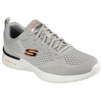 Skechers Mens Skech-Air Dynamight Grey Machine Washable Trainers