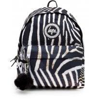 Hype Zebra Print Backpack