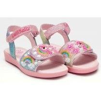 Lelli Kelly Girls Unicorn Pink Velcro Sandals