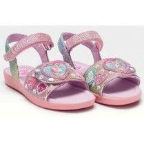 Lelli Kelly Girls Gem Lilac Unicorn Sandals