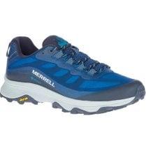 Merrell Mens Moab Speed GORE-TEX Blue Walking Trainer