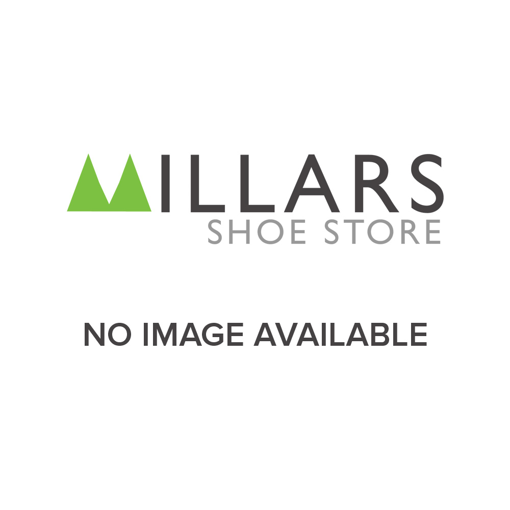 Mustang Ladies Navy Leather Lace-up Trainer