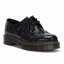 Dr Martens 1461 Bex Zebra Embossed Shoe