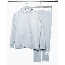 Hype Girls Grey Hoodie and Leggings Set