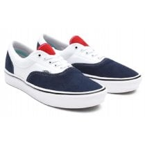 Vans Mens ComfyCush Tri-Tone White and Navy Trainers