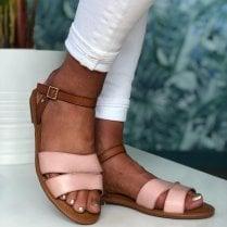 Escape Ladies Wakenda Rose Pink Sandals
