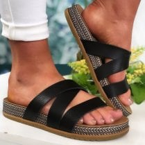 Blowfish Ladies Frenchy B Black Sandals