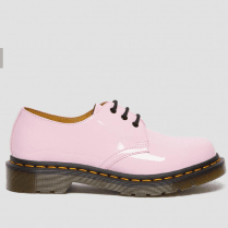 Dr Martens 1461 Pink Patent Lace Up Shoes