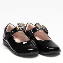 Lelli Kelly Girls Bonnie - Black Patent School Shoes