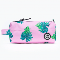 Hype Pink Palm Pencilcase