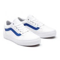 Vans Kids Pop Classic Blue/White Old Skool Trainers