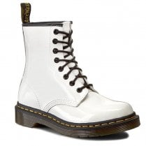 Dr Martens 1460 White Patent Boots