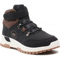 Xti Kids Black Velcro Walking Boot