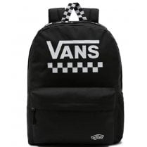 Vans Street Sport Realm Black Check Backpack