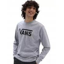 Vans Mens Grey Classic Long Sleeve T-Shirt