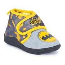 Batman Slippers - Grey