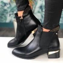 Kate Appleby Ladies Acle Ladies Black Ankle Boots