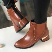 Kate Appleby Contin Tan Ankle Boots