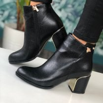 Kate Appleby Dalston Black Reptile Boots