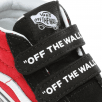 Vans Kids Toddler Logo Pop Sk8-Mid Reissue V Shoes - Black/Red