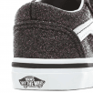Vans Kids Toddler Glitter Stars Old Skool V Shoes - Black Multi