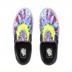 Vans Unisex Tie Dye Slip-On Shoes - Mysterioso/True White