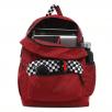 Vans Burgundy Checkered Backpack