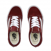 Vans Kids Old Skool Trainers Shoes - Burgundy