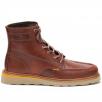Caterpillar Mens Jackson Moc Brown Lace Up Boots