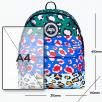 Hype Primary Stripe Multi Leopard Backpack