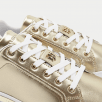 Tommy Hilfiger Ladies Metallic Gold Trainers