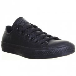 Unisex Chuck Taylor All Star Monochrome Ox Leather Black