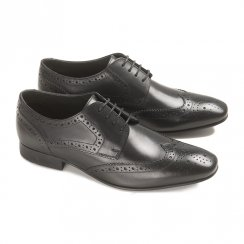 Ikon Mens Ritchie Brogues - 2345 - Black