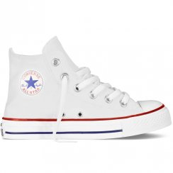 Converse Kids Chuck Taylor All Star Hi Trainers - White