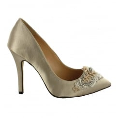 Menbur Stone Pointed Occasion Heels - 072430R87