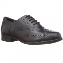 Kada School Shoe - Girls Leather Brogue