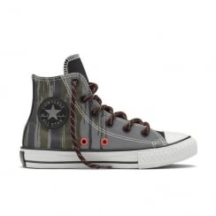Chuck Taylor All Star Hi Flash Flood Yth/Jr Sneakers - Grey - 654214C