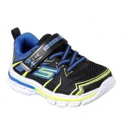 Skechers Toddler Nitrate Ion Blast Blue Sneakers