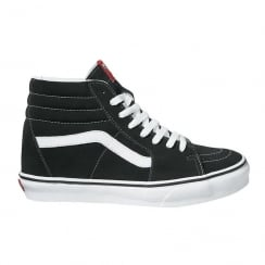 Vans Unisex Sk8-Hi Top Black Skate Shoes
