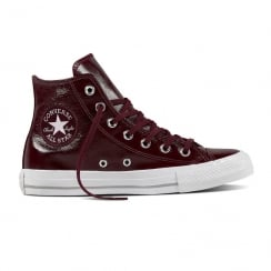 Converse Women's All Star Hi Top Sneakers - Burgundy