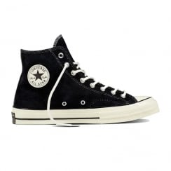 Converse Men's Chuck All Star 70's Hi Top Suede Sneakers - Black