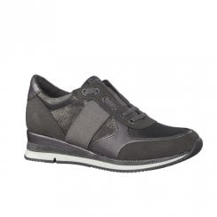Marco Tozzi Womens Casual Trainer - Grey