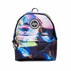 Hype Multi Space Paint Backpack - Blue Multi