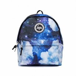 Hype Blue Space Cloud Backpack - Blue