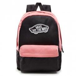 3c42dbfb507 Vans Realm 22 Litre Backpack - Black Desert Rose