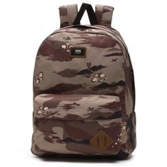 Vans Old Skool II Storm Camo Backpack - Brown/Khaki