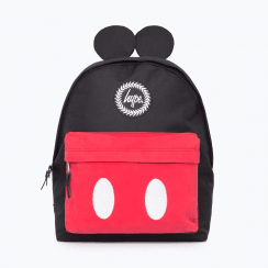 Hype Black Mickey Backpack - Black/Red