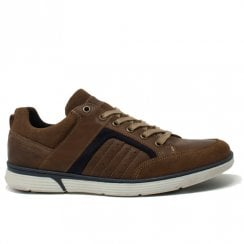 Lloyd & Pryce Mens Boyd Camel Casual Lace Up Shoes