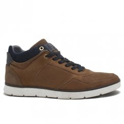 Lloyd & Pryce Mens Byrne Camel Casual Lace Up Shoes