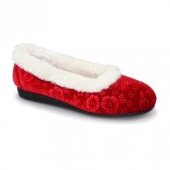 Lunar Lavinia Full Slippers - Red